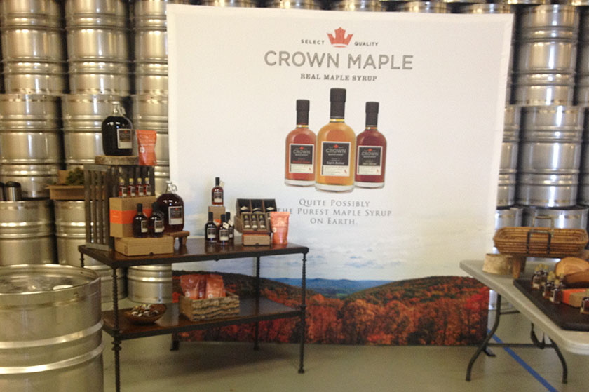 Crown Maple display