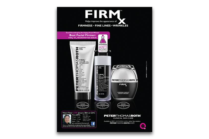 PTR FirmX ad