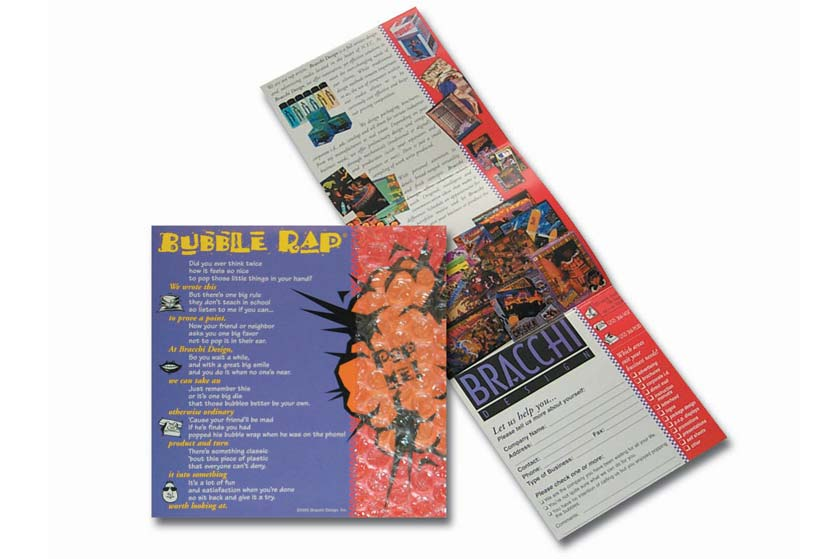 Bracchi Design's award winning promotional mailer