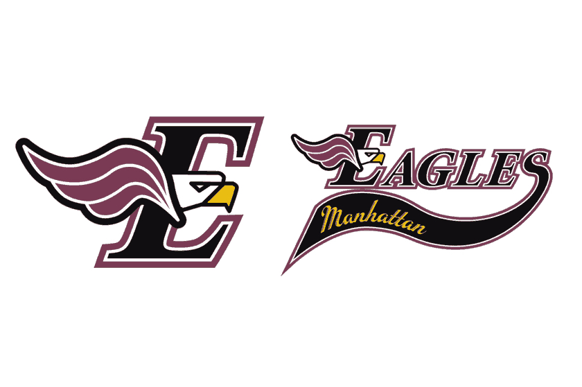 Manhattan Eagles logo & branding