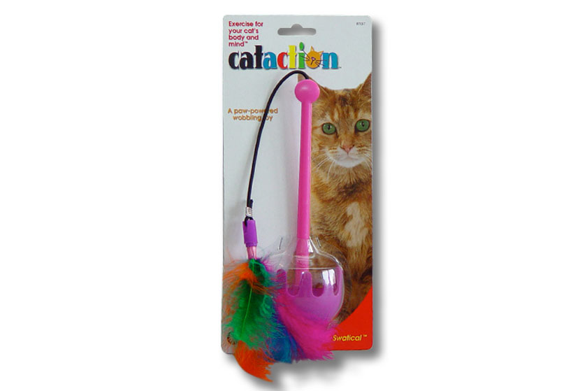 Cataction packaging & line look