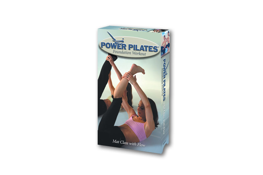 Power Pilates video packaging