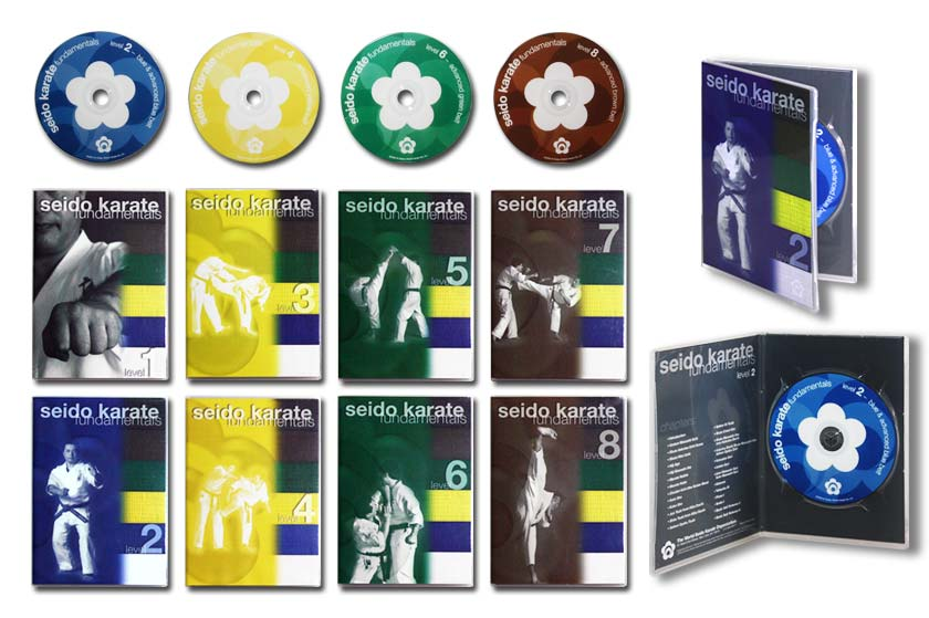 Seido Karate dvd packaging & line look