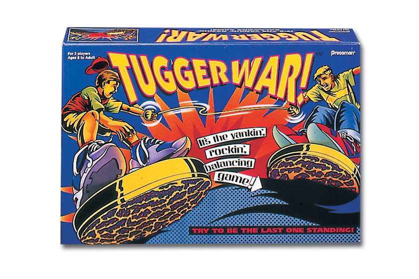 TuggerWar toy packaging